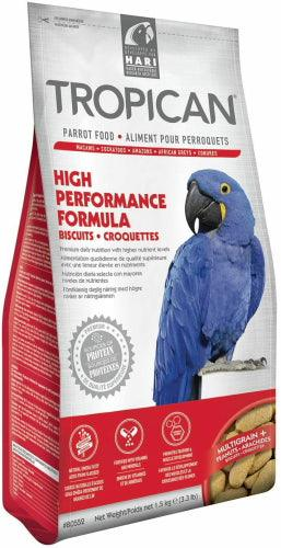Tropican High Performance Formula Biscuits Parrot Food 3.3lb