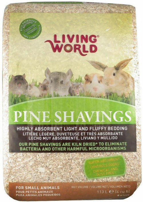 Living World Pine Shavings Bedding, 114L
