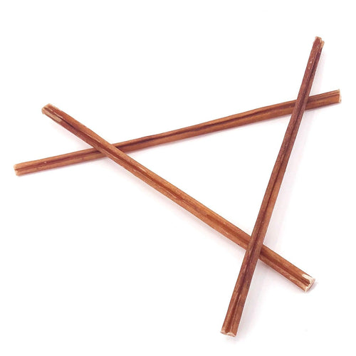 ValueBull Bully Sticks for Small Dogs, Thin 12 Inch, 25 Count