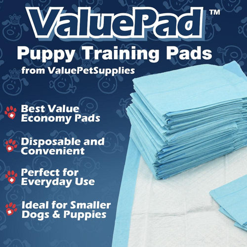 ValuePad Puppy Pads, Small 17x24 Inch, 300 Count
