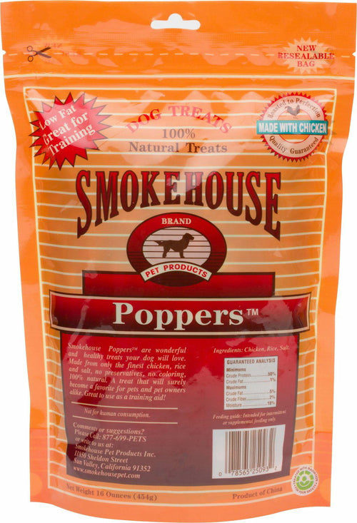 Smokehouse Chicken Poppers 12lb