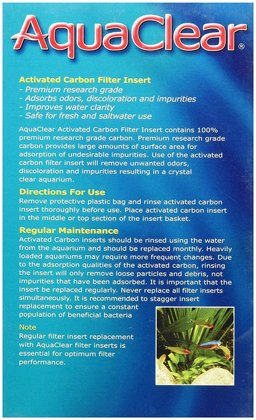 Aqua Clear 110 (500) Activated Carbon for Aquariums, 9 Ounce