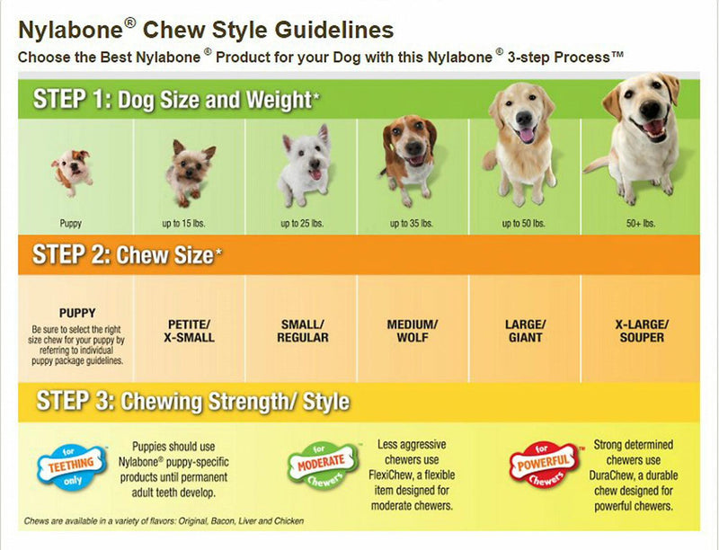 Nylabone Healthy Edibles Dog Treats with Vitamins, Chicken and Roast Beef, Regular, 12 Count