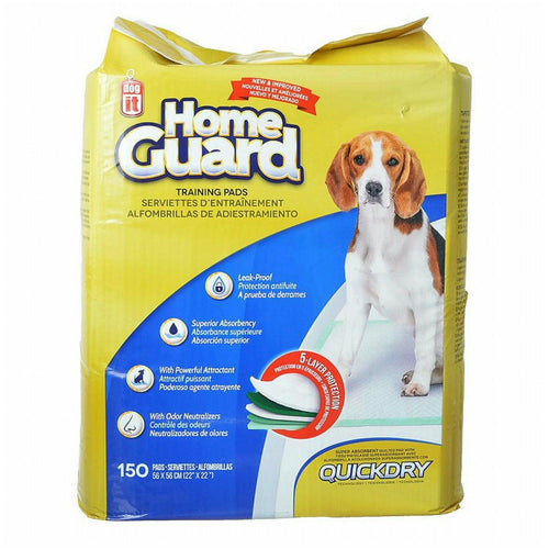 Dogit Home Guard Training Pads, Medium, 150 Count, 4 Pack