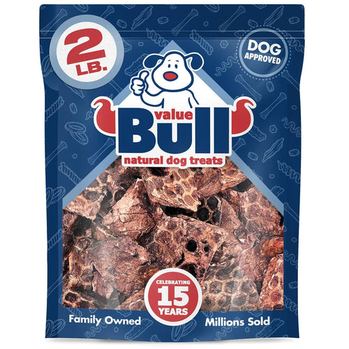 ValueBull Lamb Lung Wafers, Premium 2 Pound