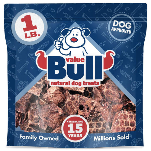 ValueBull Lamb Lung Wafers, Premium 1 Pound