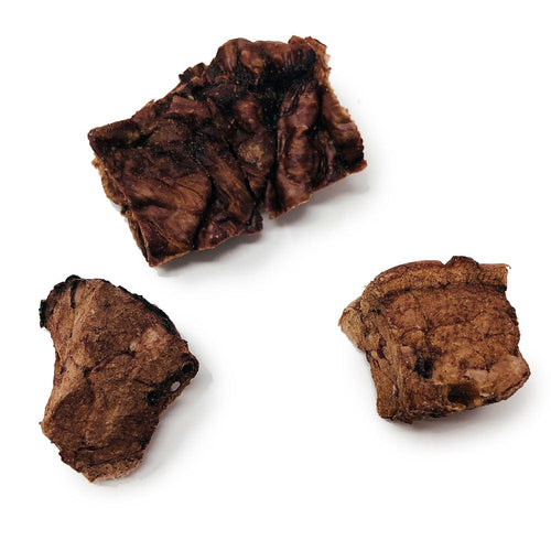 ValueBull USA Roasted Beef Lung Dog Chews, 8 Ounce