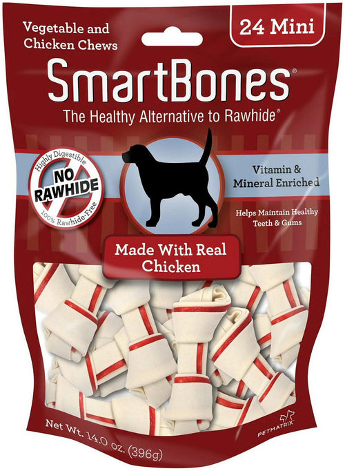 SmartBones Chicken Mini 288pk (12 x 24pk)