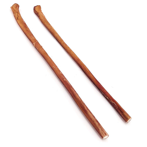 ValueBull Premium Bully Stick Canes, Thick 22-24 Inch, 2 Count