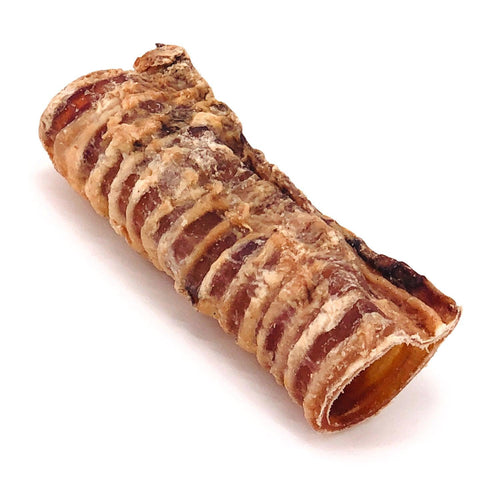 ValueBull Beef Trachea, Premium 6 Inch, 100 Count