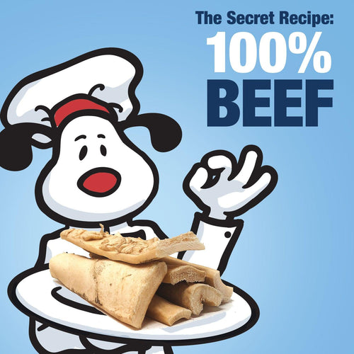 ValueBull Beef Cheek Slices, Premium Thick 6 Inch, 10 Count