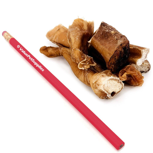 NEW- ValueBull Bully Stick Bits Dog Treats, 0-4 Inch, 5 Pound