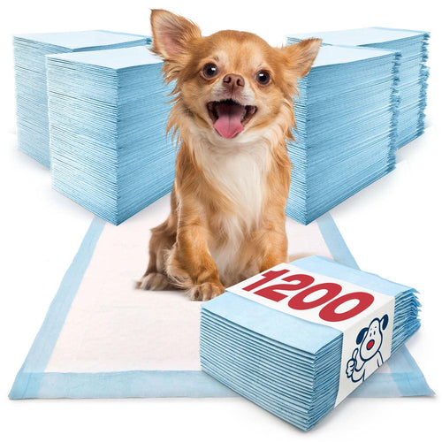 ValuePad Puppy Pads, Small 17x24 Inch, 1200 Count