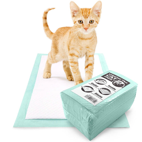 ValuePad Plus Cat Litter Pads, 16.9x11.4 Inch, Unscented, 25 Count - Breeze Compatible Refills