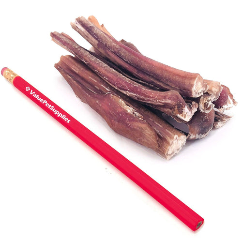 ValueBull Bully Sticks for Small Dogs, Thin 4-5 Inch, Varied Shapes, 200 Count
