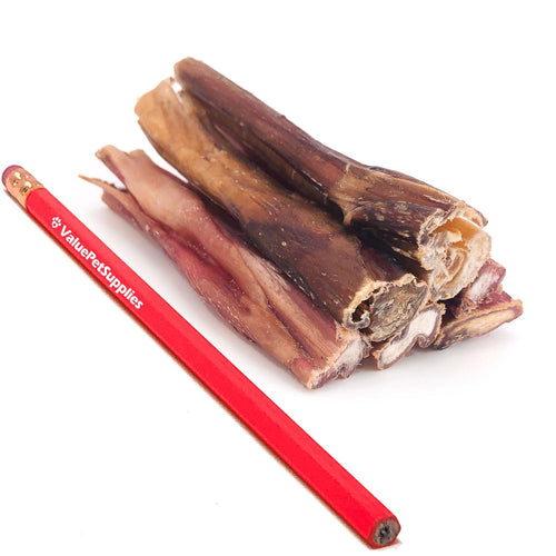 ValueBull Bully Sticks, Thick 3-4 Inch, Varied Shapes, 100 Count