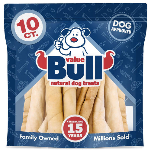 ValueBull Beef Cheek Rolls, Premium Jumbo 10 Inch, 10 Count