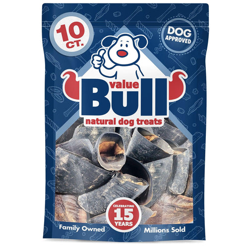ValueBull USA Hooves Dog Chews, 120 Count