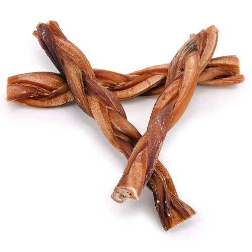 ValueBull Braided Bully Sticks, Thick 9 Inch, 50 Count