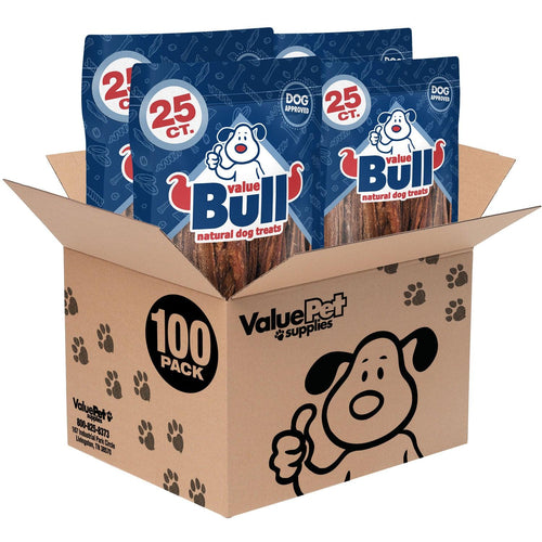 ValueBull Udder Sticks, Premium 4-6 Inch, 100 Count
