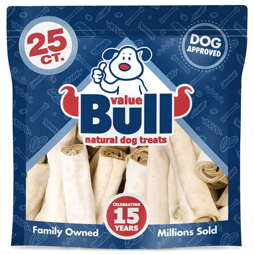 NEW- ValueBull USA Retriever Rolls, Jumbo 6 Inch, 25 Count