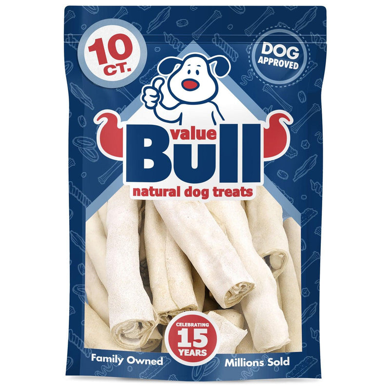 NEW- ValueBull USA Jumbo Retriever Rolls, 6 Inch Thick Cut, 10 Count