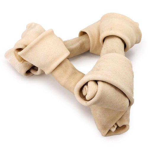 NEW- ValueBull USA Rawhide Dog Bones, 8-9 Inch, 25 Count