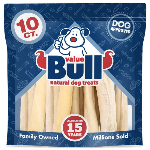 NEW- ValueBull USA Thick Retriever Rolls, 9-10 Inch Thick Cut, 10 Count