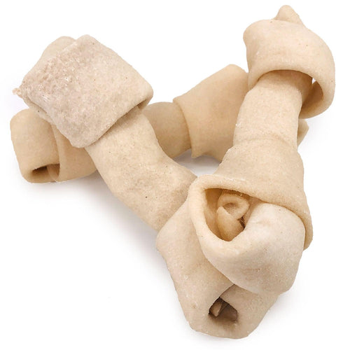 NEW- ValueBull USA Rawhide Dog Bones, 4-5 Inch, 100 Count