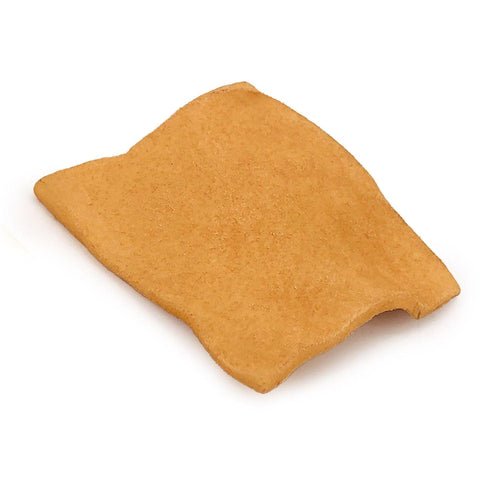NEW- ValueBull USA Rawhide Chips for Small Dogs, 2x3 Inch, Smoked, 1 Pound