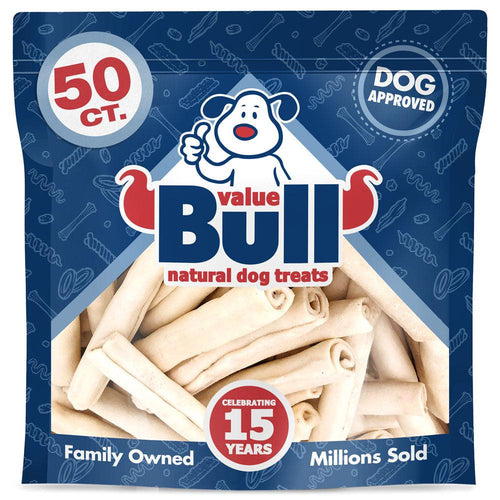 NEW- ValueBull USA Retriever Rolls for Small Dogs, Slim 5-6 Inch, 50 Count