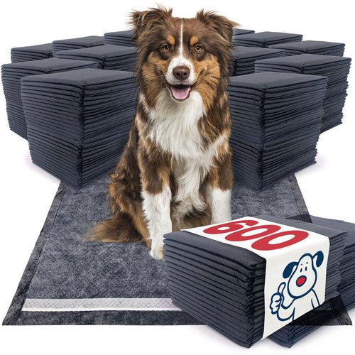 NEW- ValuePad Plus Carbon Puppy Pads, Large 28x30 Inch, 600 Count