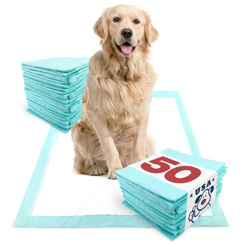 NEW- ValuePad USA Plus Puppy Pads, Extra Large 28x36 Inch, 50 Count