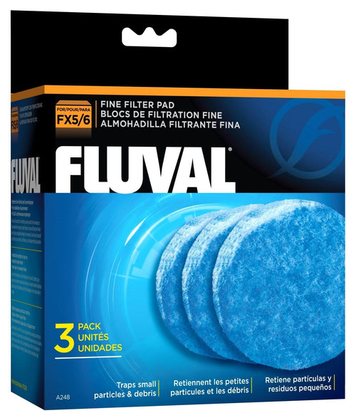 Fluval FX4 Filter w/ Water Pad, Filter Pad & Filter Foam (6 Month Supply)