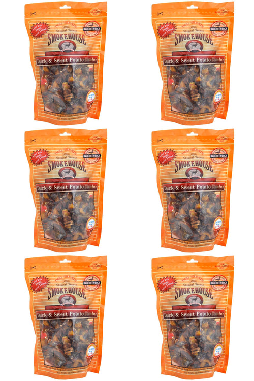 Smokehouse Duck & Sweet Potato Dog Treats, 16 Ounce, 6 Pack