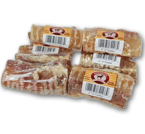 Smokehouse Beef Trachea 80ct 4-5IN Toobles