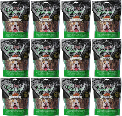 Loving Pets Duck Filet Strips Dog Chews, Gourmet All Natural Premium, 12 Ounce, 12 Pack