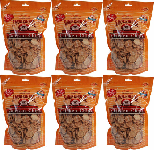 Smokehouse Chicken Chips Dogs Treats, Small, 16 Ounce, 6 Pack