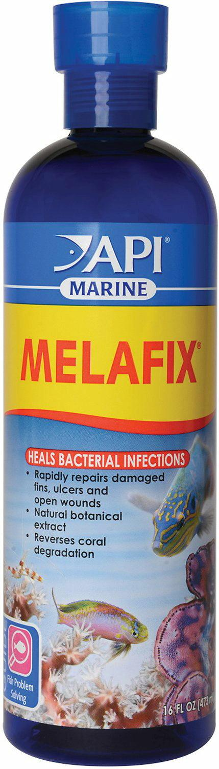 API Marine Melafix for Saltwater, 16 Ounce