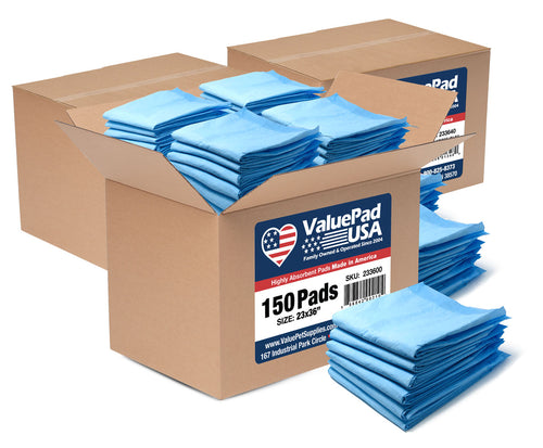 ValuePad USA Puppy Pads, Large 23x36 Inch, 450 Count
