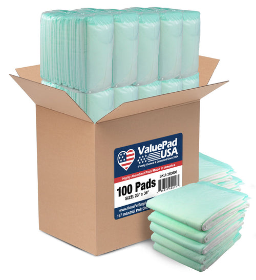 ValuePad USA Plus Puppy Pads, Extra Large 28x36 Inch, 200 Count