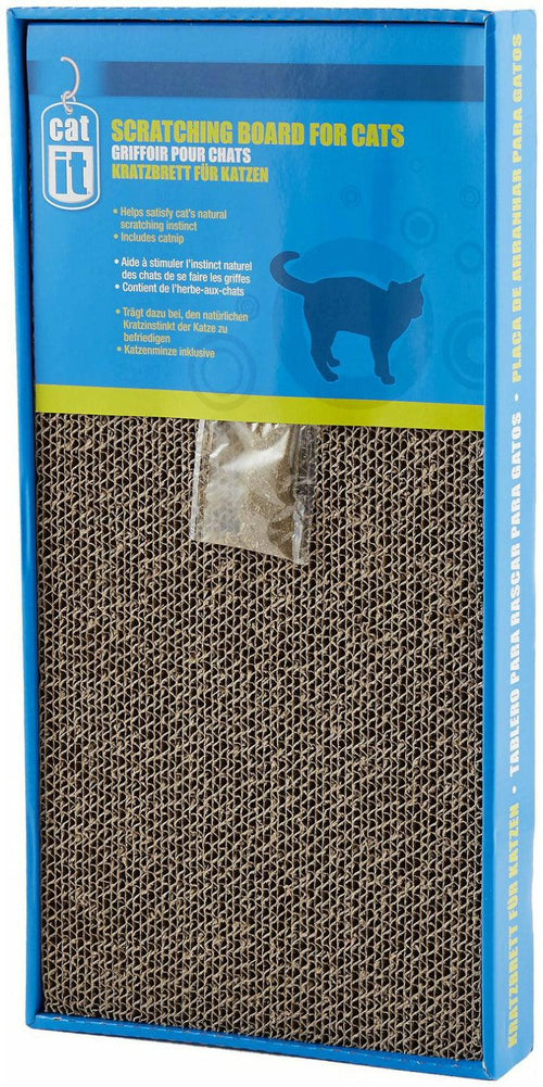 Catit Scratcher W/Catnip, Large, 12 Pack
