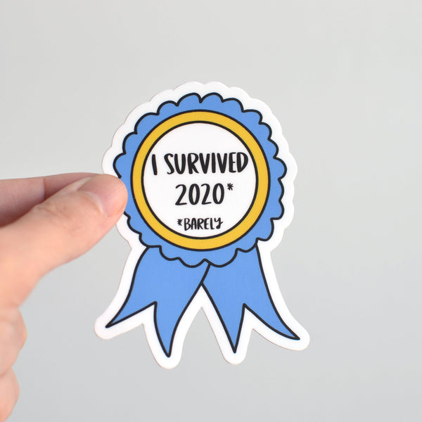 Row House 14 - I Survived 2020 Sticker