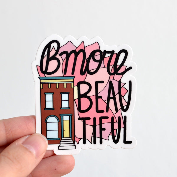 Row House 14 - Bmore Beautiful Sticker