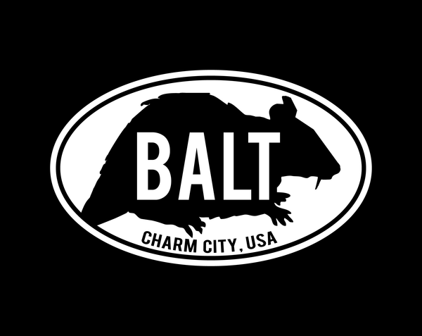 Rat Czar- Baltimore Rat Sticker