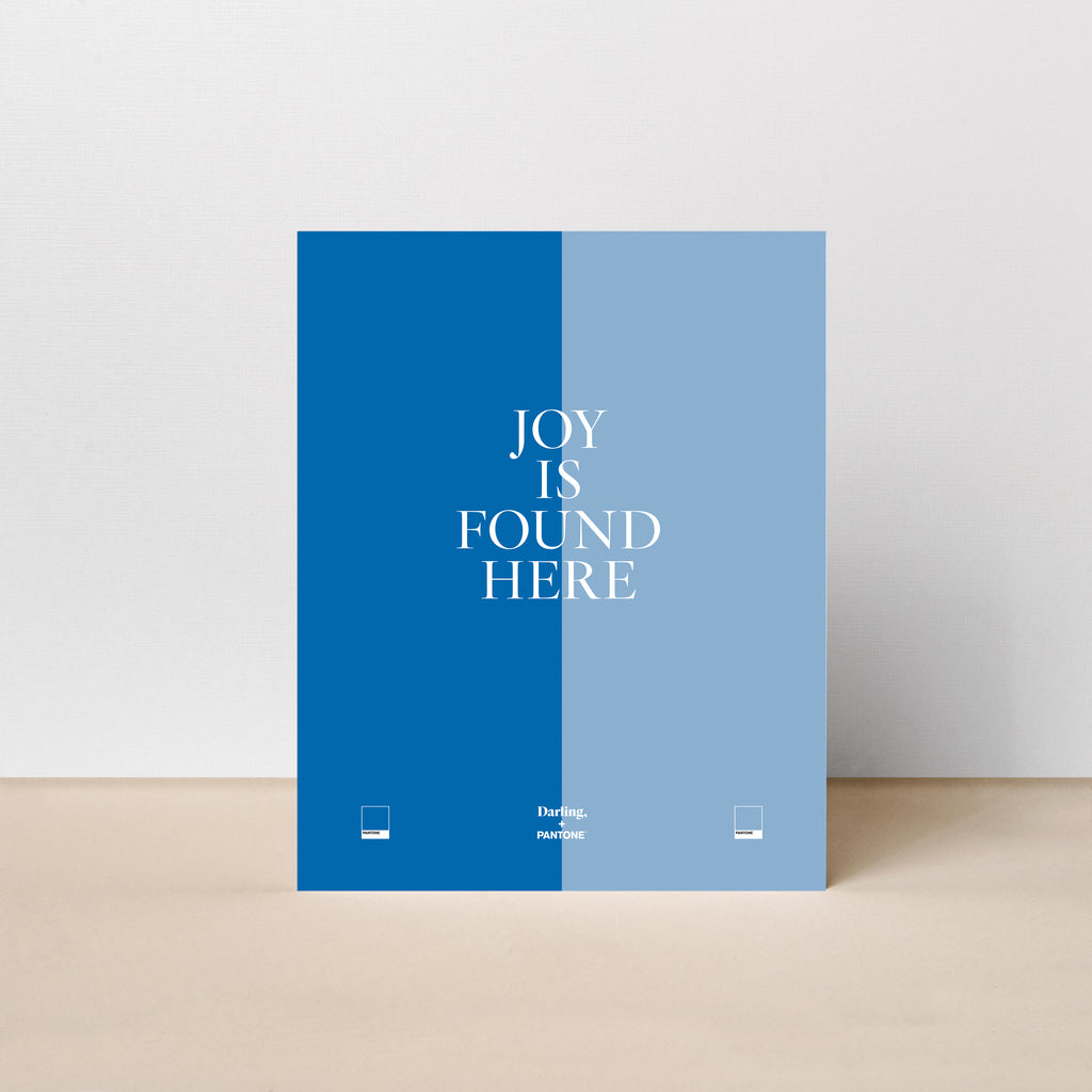 Joy is Found Here Poster