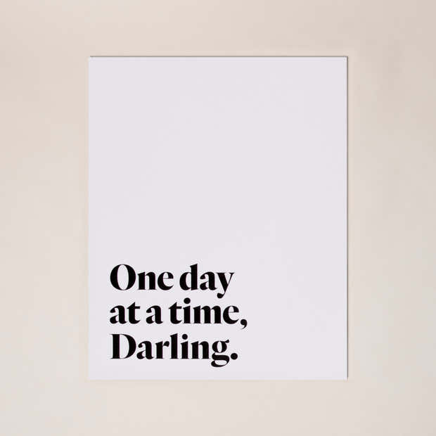 One Day at a Time Print 1