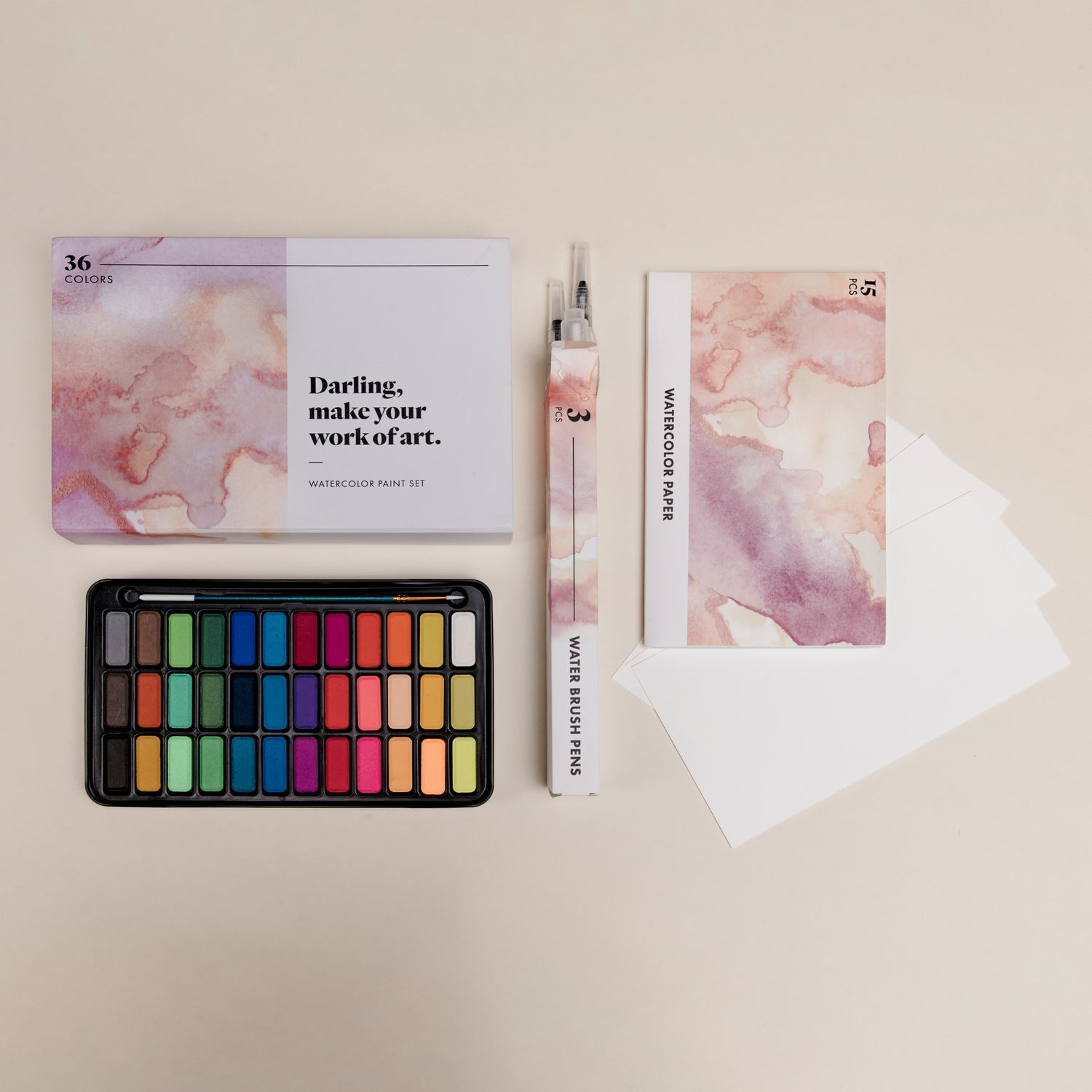 Darling Watercolor Paint Set