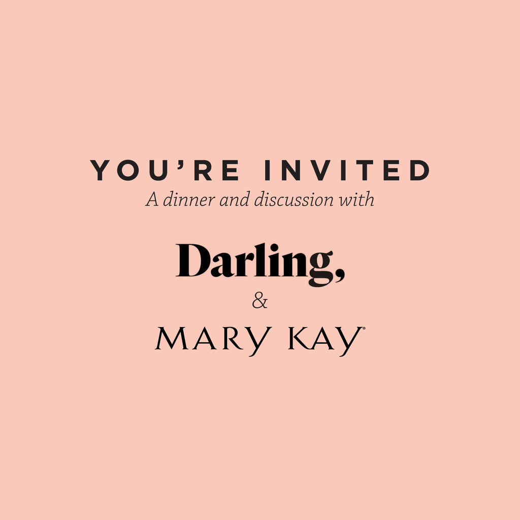 Los Angeles Darling Dinner with Mary Kay