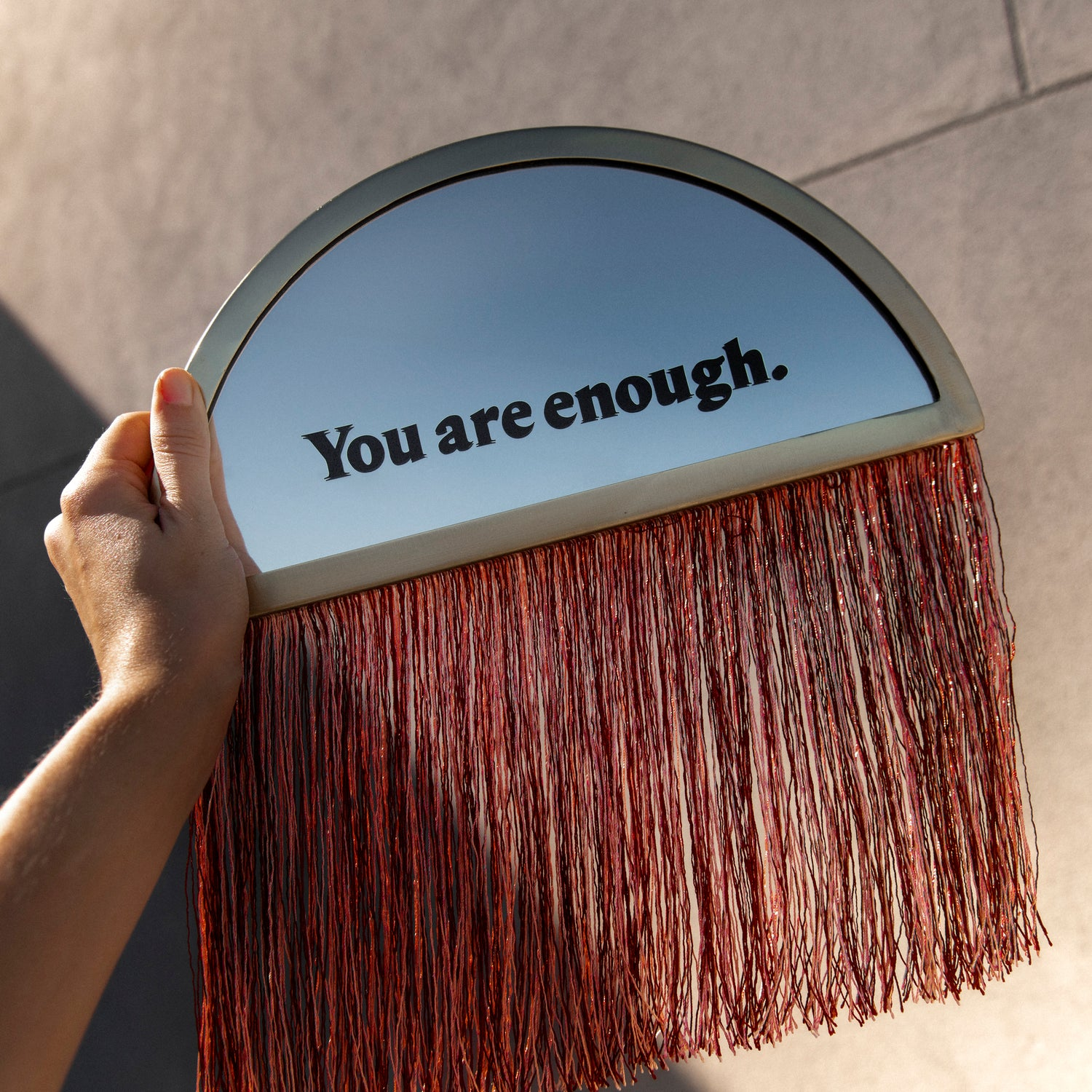 You Are Enough Decal